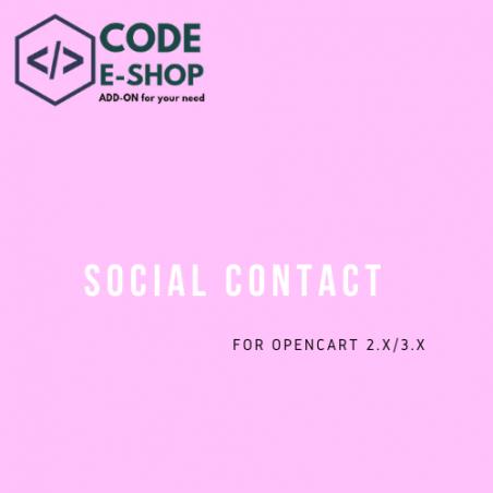 Social Contact Info