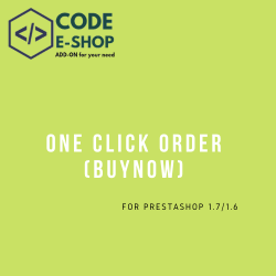 One Click Order (Buy Now)