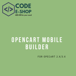 Opencart Mobile Builder