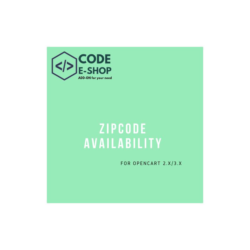 ZipCode Availability