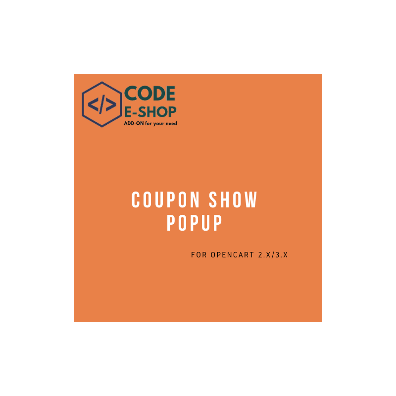 Coupon Show Popup