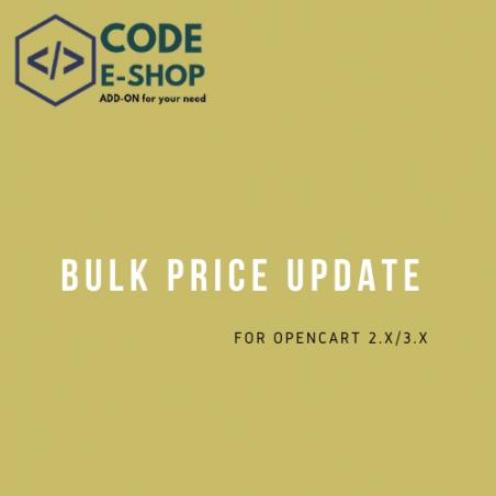 Bulk Price Update